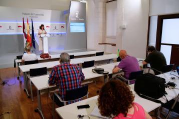 Rueda de prensa del Consejo de Gobierno (1 de julio) PORTAVOZ (IV)