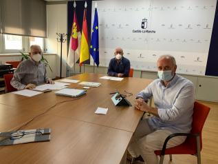 Reunión Comisión Gestora de la Cámara Agraria de Albacete