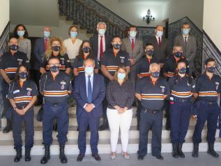 El Gobierno regional destina más de 330.000 euros a las subvenciones para uniformes y medios materiales de las agrupaciones de Protección Civil