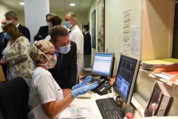 Visita el nuevo TAC del hospital Nuestra Señora del Prado