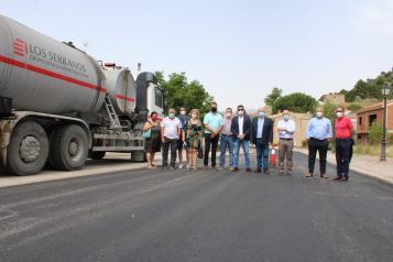 El Gobierno regional comienza la remodelación de la CM-412 en Riópar