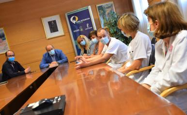 El Gobierno regional avanza en la renovación tecnológica del hospital de 'Virgen de la Luz' con la incorporación de un nuevo TAC