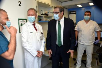 El servicio de PET-TAC móvil en el Hospital Nuestra Señora del Prado ha evitado más de 400 desplazamientos a los pacientes del Área de Talavera