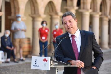 """Inauguración de la exposición """"EL MUSEO DEL PRADO EN SIGÜENZA"""" (Presidente)"""