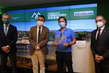 El consejero de Agricultura, Agua y Desarrollo Rural, Francisco Martínez Arroyo, asiste a la XVIII edición de los Premios Cornicabra 2020 de la Fundación Consejo Regulador de la Denominación de Origen de Aceite Montes de Toledo