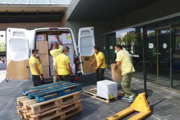 El Gobierno de Castilla-La Mancha ha distribuido más de 20 millones de artículos de protección para profesionales sanitarios desde el inicio de pandemia