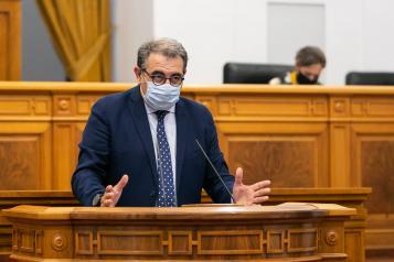 Pleno de las Cortes regionales (Sanidad) 29 de julio de 2020