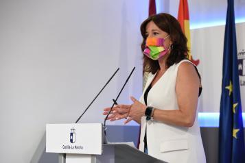La consejera de Igualdad y Portavoz informa sobre los acuerdos del Consejo de Gobierno extraordinario (II)