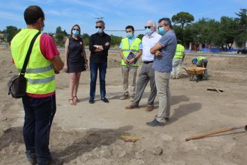 El Gobierno de Castilla-La Mancha señala que la actuación en el Peral de Valdepeñas cuenta desde el inicio con supervisión arqueólogica