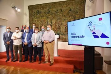 Presentación de la nueva aplicación móvil 'Ocio Responsable'