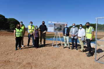 El Gobierno de Castilla-La Mancha invierte 182.000 euros en una obra de emergencia para garantizar la depuración de agua en Casas de Haro