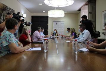 """El Gobierno de Castilla-La Mancha última la aplicación del """"Plan de Respuesta Temprana frente a la Covid-19"""" en las residencias de mayores"""