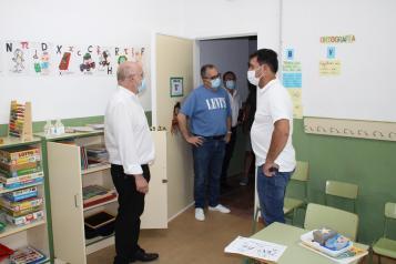 Visita de Ruiz Santos a Lezuza