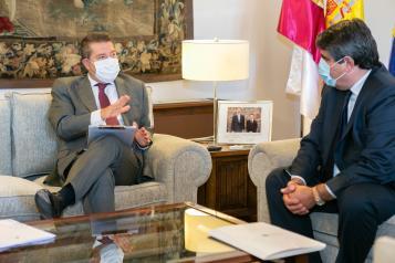 Reunión con los responsables de la Asociación de Residencias de la Tercera Edad de Castilla-La Mancha