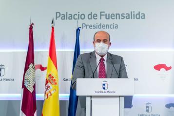 Comparece para informar sobre la reunión mantenida por el presidente Emiliano García-Page con representantes de Ciudadanos