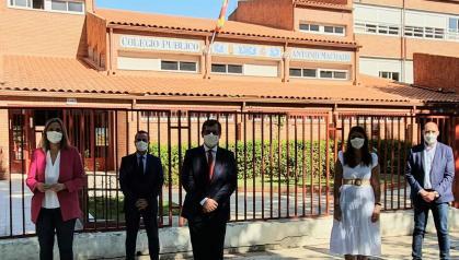 """El Gobierno regional subraya que 20.450 estudiantes han iniciado el curso en Talavera y comarca con """"normalidad, seguridad y con todo preparado ante una posible eventualidad"""""""