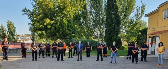 Voluntarios de Protección Civil se forman para mejorar su respuesta frente a la primera atención sanitaria de emergencias