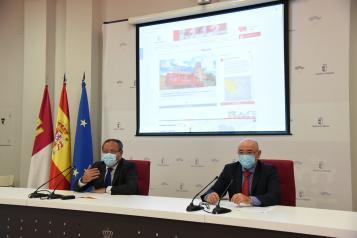 El consejero de Hacienda y Administraciones Públicas, Juan Alfonso Ruiz Molina, presenta la nueva página web del Servicio de Atención y Coordinación de Urgencias y Emergencias 1-1-2 de Castilla-La Mancha.