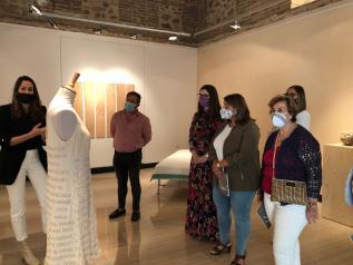 """El centro cultural `Rafael Morales´ de Talavera """"visibiliza el talento artístico femenino"""" en la VI Muestra de Mujeres en el Arte `Amalia Avia´"""