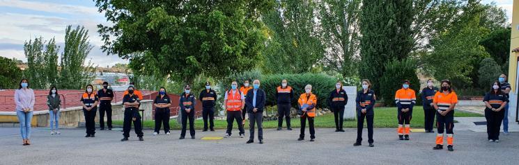 Voluntarios de Protección Civil de la región se forman en técnicas de inmovilización, movilización y traslado del paciente en emergencias