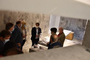 El Gobierno de Castilla-La Mancha destaca que la rehabilitación de las Casas Colgadas de Cuenca potenciará el atractivo turístico de la región