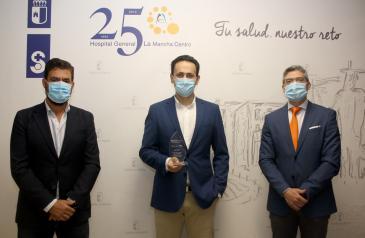 El Hospital de Alcázar de San Juan recibe un premio a la excelencia por crear un programa que predice y evita el colapso en las Urgencias