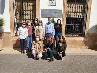 Reunión con el nuevo equipo PRAS en Villaverde de Guadalimar