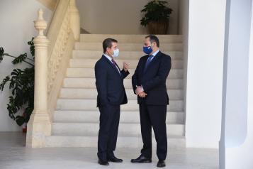 Reunión García-Page y Ábalos