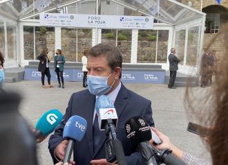 """El presidente García-Page aboga por la """"unidad de mensaje"""" como medida """"determinante"""" para combatir la pandemia de la Covid-19"""