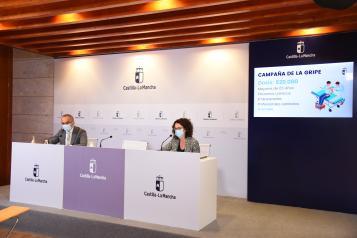 El Gobierno de Castilla-La Mancha pone a disposición de los ciudadanos 620.000 dosis de vacuna contra la gripe en plena pandemia COVID