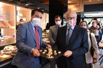 Presentación del primer mazapán a nivel nacional sin gluten