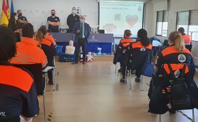 La Escuela de Protección Ciudadana inicia la XVIII edición del curso de formación básico para los nuevos integrantes de Protección Civil