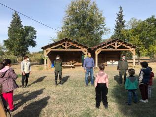 El Gobierno de Castilla-La Mancha inicia el programa de sensibilización y divulgación ambiental de otoño para familias en el Vivero de Toledo