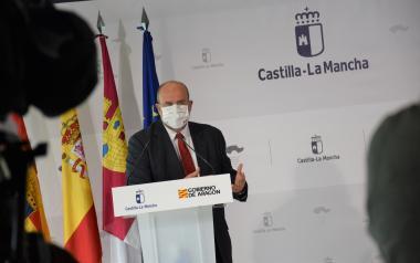 El vicepresidente de Castilla-La Mancha mantiene un encuentro con la consejera de Presidencia y Relaciones Institucionales de Aragón (II)