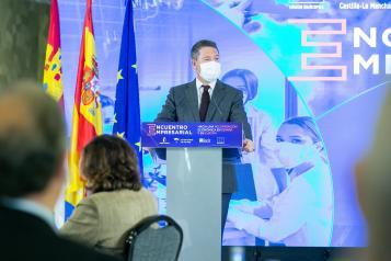 """Inauguración del encuentro empresarial """"Hacia una recuperación económica en España y en Europa"""""""