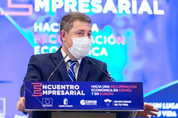 """Clausura del encuentro empresarial """"Hacia una recuperación económica en España y en Europa"""" (Guadalajara)"""