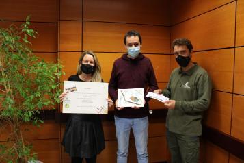 Entrega del Premio de Dibujo de Aves por la Green Week en Albacete