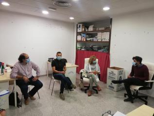 Reunión Bienestar Social y Fundación Atenea