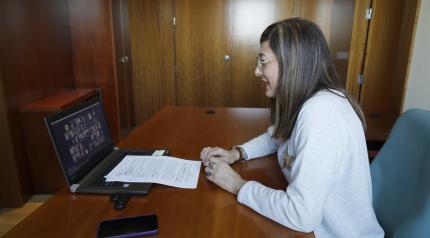 La directora del Instituto de la Mujer, Pilar Callado, inaugura el II Foro Virtual de Mujeres Cooperativistas de Castilla-La Mancha