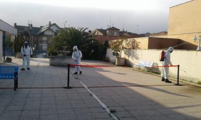 Bienestar Social, con la colaboración de GEACAM, ha puesto en marcha un Plan Especial de Desinfección de centros sociosanitarios en la provincia de Toledo