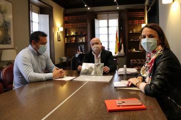 Reunión del delegado de la Junta en Albacete sobre el nuevo Plan Turístico de Alcaraz
