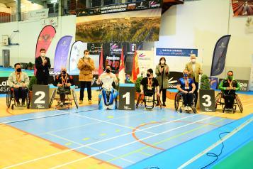 El Gobierno regional considera un ejemplo de inclusión la celebración de los campeonatos de España de Bádminton sub 19 y Parabádminton