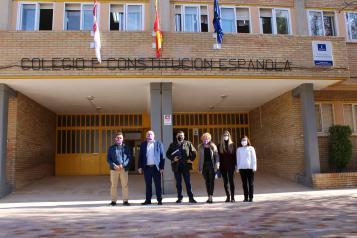 Inauguración oficial del nuevo comedor escolar de Madrigueras