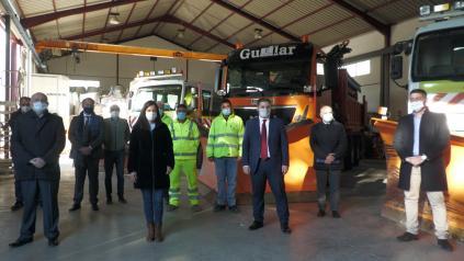 El Gobierno de Castilla-La Mancha incrementa los medios humanos y materiales para el Plan de Vialidad Invernal 2020-2021