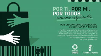 El Gobierno de Castilla-La Mancha lanza una campaña para fomentar estas Navidades un consumo responsable y la adquisición de productos de proximidad en establecimientos locales