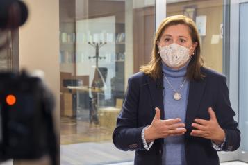 Geacam y el Grupo Tragsa están llevando a cabo labores de limpieza y supervisión prioritaria en 112 centros educativos de 64 localidades de Castilla-La Mancha
