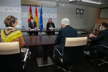 Francisco Martínez Arroyo mantiene una reunión con el nuevo Patronato de la Fundación Consejo Regulador de la Denominación de Origen Queso Manchego