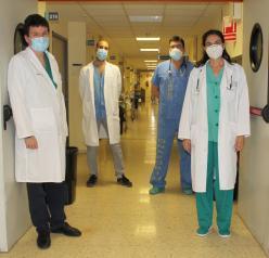 El Hospital de Toledo pone en marcha una Unidad de Cuidados Respiratorios Intermedios para pacientes Covid