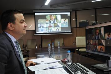 EL CONSEJERO DE AGRICULTURA, AGUA Y DESARROLLO RURAL COMPARECE EN COMISIÓN DE LAS CORTES REGIONALES PARA INFORMAR SOBRE LA INCIDENCIA DEL TEMPORAL 'FILOMENA' EN EL ÁMBITO DE SU DEPARTAMENTO