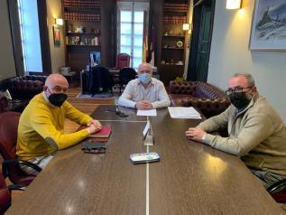 Reunión Ruiz Santos y Ayuntamiento de Chinchilla